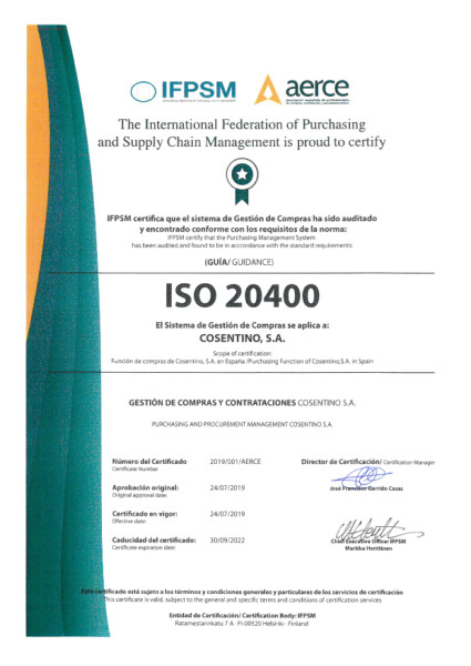 ISO 20400