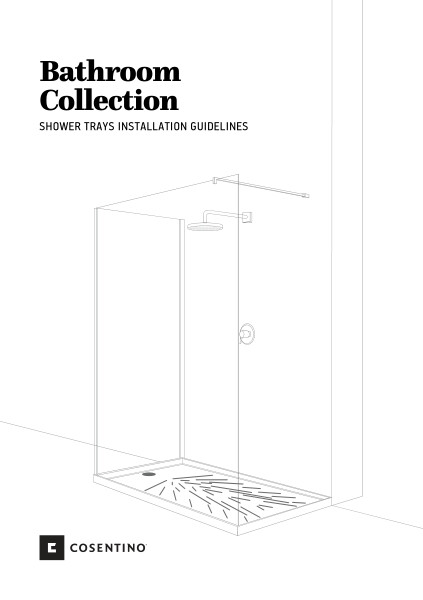 Shower Trays Installation Manual